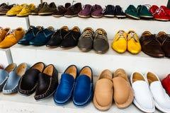 经典人鞋子 免版税库存照片