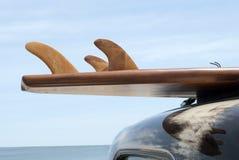 经典冲浪板 免版税库存照片