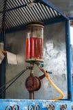 经典加油站在泰国的乡下 库存图片