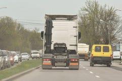 经典大半船具卡车 免版税库存照片