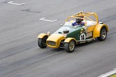 经典小汽车赛在Sepang 免版税图库摄影