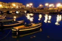 经典意大利老西西里岛西勒鸠斯 免版税库存照片