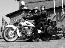 经典摩托车 图库摄影