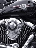 经典摩托车 库存照片