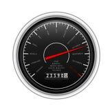 经典新的车速表白色年 免版税库存图片