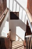 经典楼梯 库存照片