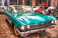 经典汽车在博物馆 免版税库存照片