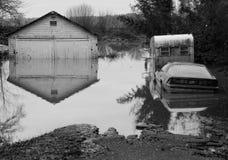 经典洪水 库存图片