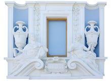 经典片段查出的墙壁视窗 免版税库存图片