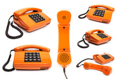 经典电话收藏 图库摄影