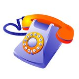 经典电话 图库摄影