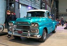 经典美国卡车 免版税库存图片