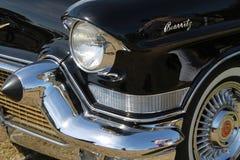 经典美国汽车详述特写镜头 免版税库存图片