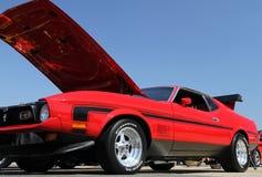 经典美国肌肉汽车 免版税库存照片