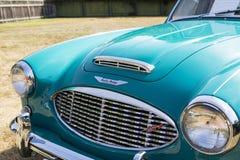 经典英国汽车 免版税库存图片