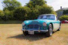 经典英国汽车 免版税库存照片