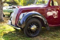 经典英国汽车 免版税图库摄影