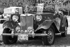 经典英国汽车 图库摄影