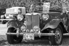 经典英国汽车 库存图片