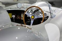 经典赛车从1950年道路赛车的 免版税图库摄影