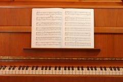 经典钢琴 免版税库存图片
