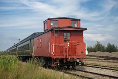经典铁货车 免版税库存照片