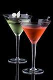 经典鸡尾酒马蒂尼鸡尾酒多数普遍的系列 免版税库存图片
