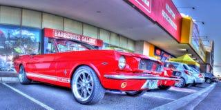 经典20世纪60年代美国人Ford Mustang 免版税库存照片