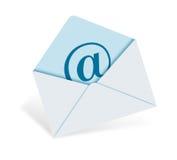 经典e邮件 库存例证