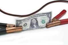 经济上涨起始时间 免版税库存照片