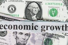 经济增长 免版税图库摄影