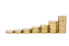 经济增长 免版税库存照片