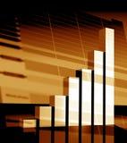 经济情况统计 免版税库存照片