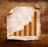 经济情况统计 库存图片