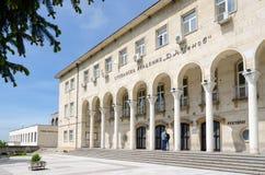 经济的Tsenov学院入口  图库摄影