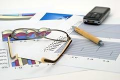 经济财务 免版税库存照片