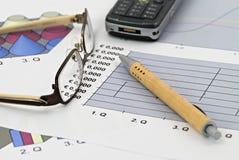 经济财务 免版税图库摄影