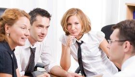 经理会议办公室工作者 免版税库存照片