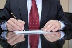 经理 免版税库存照片