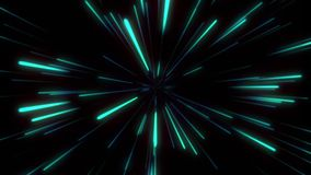 经线或超空间行动摘要在蓝星足迹 爆炸的和扩展运动 皇族释放例证