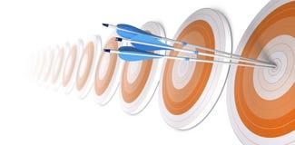 经营战略,事业背景。 横幅 向量例证