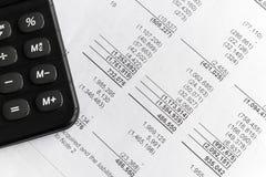 经营计划和财政规划财务分析 库存照片