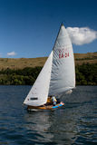 经验丰富的木风船 免版税库存照片