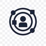 经验透明象 经验从开始的标志设计 库存例证