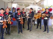 结合大墨西哥流浪乐队墨西哥 图库摄影