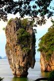结合海岛詹姆斯・普吉岛泰国 免版税库存照片