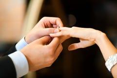 结婚提议 免版税库存图片