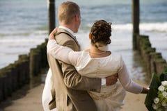 结婚的夫妇 库存图片