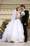 结婚的愉快 库存照片