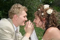 结婚 库存图片